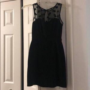 Black Lauren Conrad dress